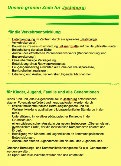 Wahlaussagen 3 2011