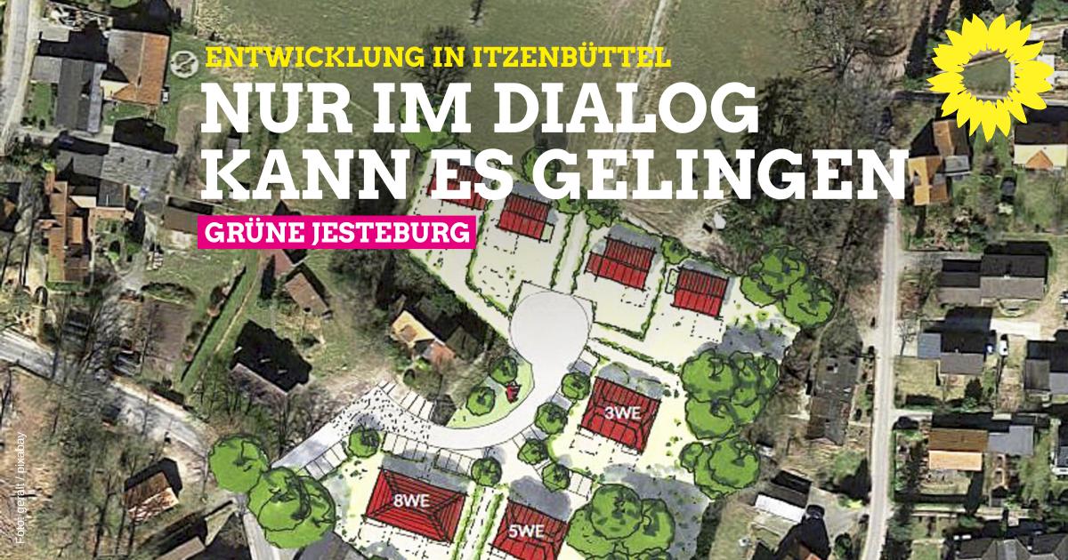 Entwicklung von Itzenbüttel nur im Dialog