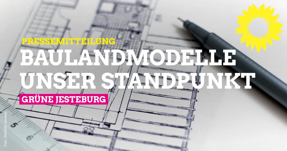 Presseerklärung zu Baulandmodellen