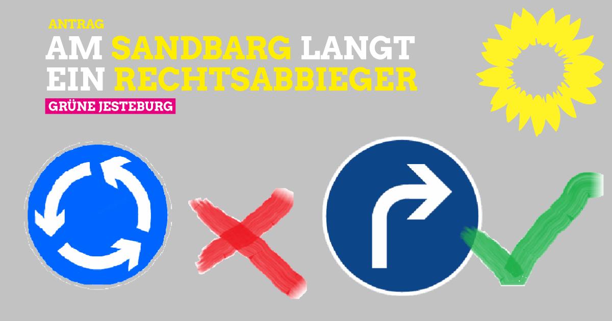 Antrag: Rechtsabbieger Sandbarg