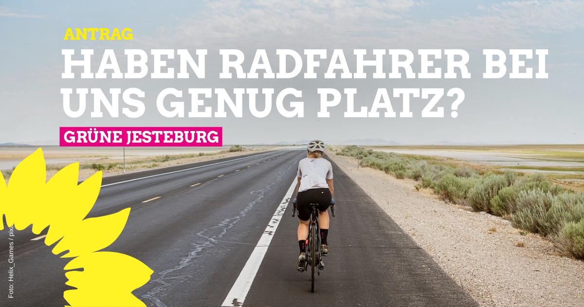 Antrag: Schilder für Überholabstand Auto-Fahrrad