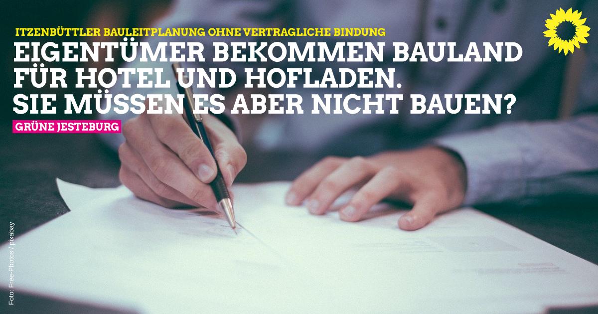 """Antrag: Städtebaulicher Vertrag """"Hof & Gut"""""""