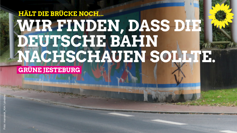 Antrag: Instandsetzung Bahnbrücke am Jesteburger Ortseingang