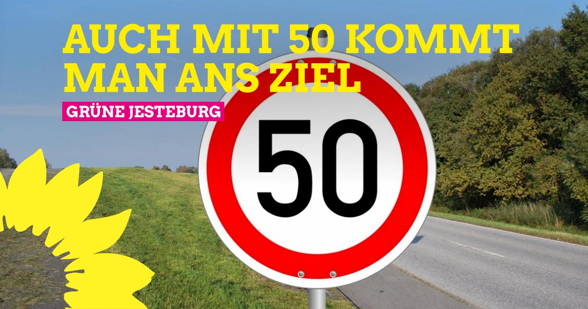 Antrag: Tempo 50 zwischen Itzenbüttel und Osterberg