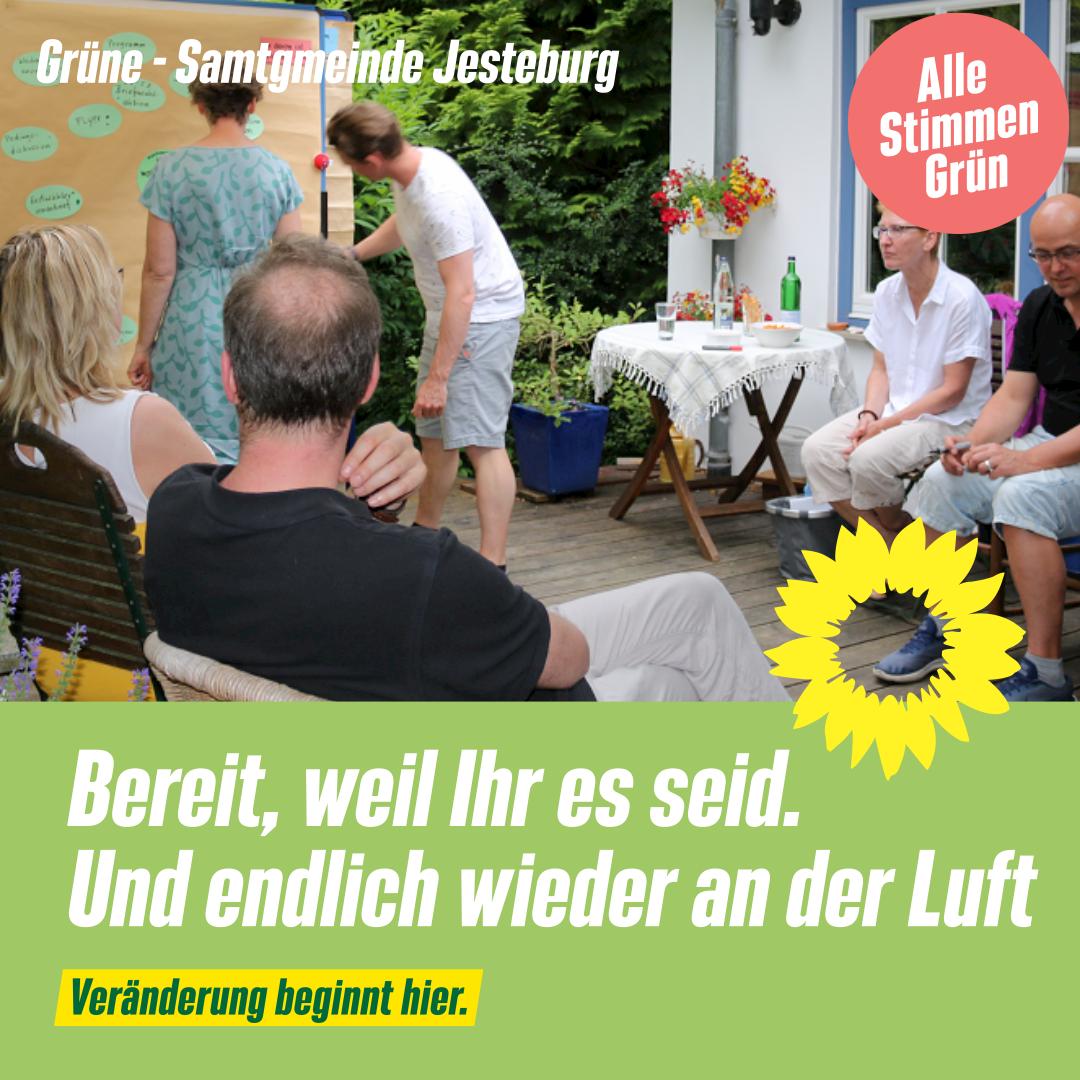 Frische Luft: Wahlkampfplanung am 28.6