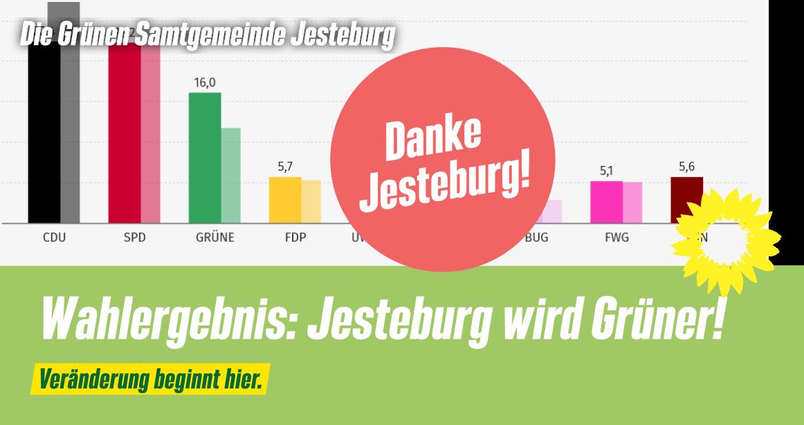 Wahlergebnis: Jesteburg wird Grüner!